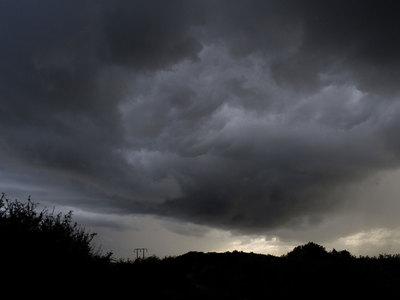 На Латвию обрушилась грозовая буря