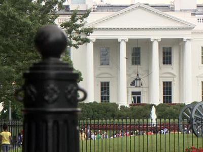 К Трампу в Белый дом через забор пыталась прорваться женщина