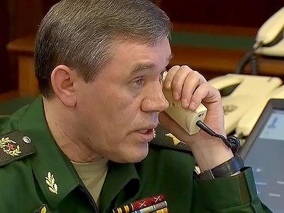 Генералы Герасимов и Данфорд обсудили войну в Сирии