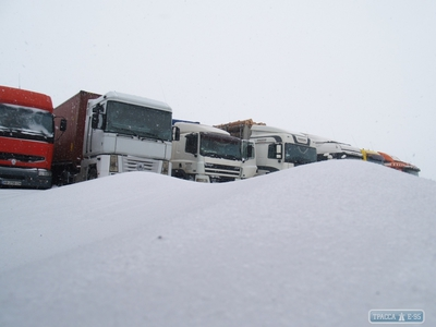 Движение на трассе Джубга-Сочи ограничено из-за снежной грозы