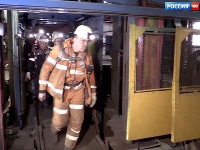 Пожар на шахте Заречная потушен: все горняки выведены на поверхность
