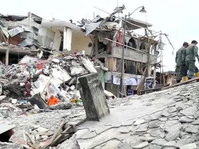 Число погибших от землетрясения в Эквадоре превысило 260 человек
