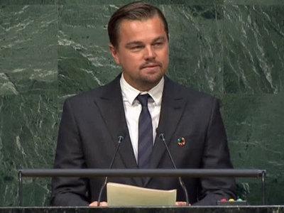 Соглашение по климату: Ди Каприо призвал отказаться от добычи топлива