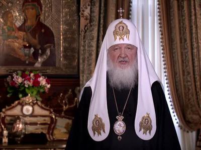 В Москве Патриарх Кирилл освятил храм, который строили 17 лет