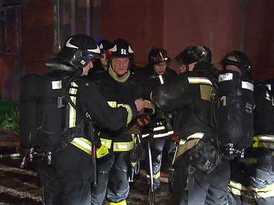 Пожар в ТЦ в Чехове локализован