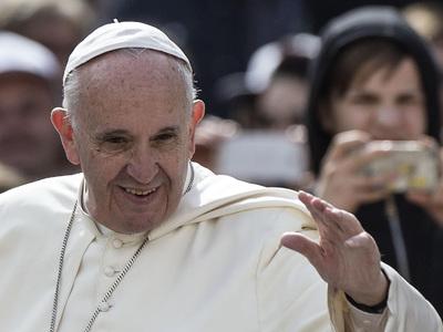 Папа Франциск отмечает 80-летие