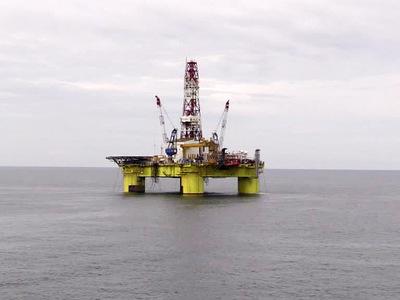 В Северном море горела платформа Statoil