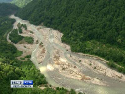 От затоплений сочинский Тхагапш защитит новый водозабор