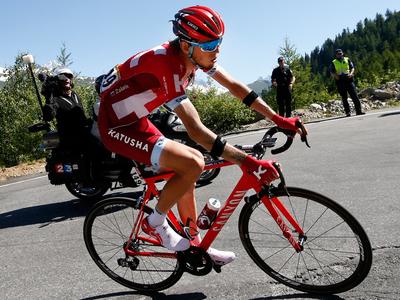 Джиро д'Италия. Закарин сократил отставание от лидера