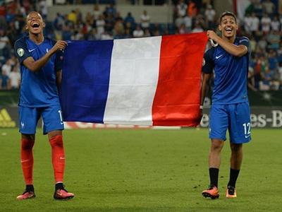Юношеская сборная Франции выиграла чемпионат Европы