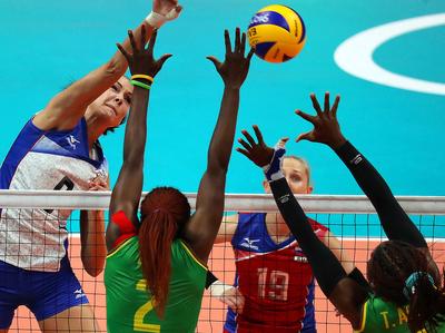 Волейболистки России переиграли в Рио команду Камеруна