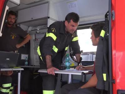 Италия хоронит первых жертв землетрясения