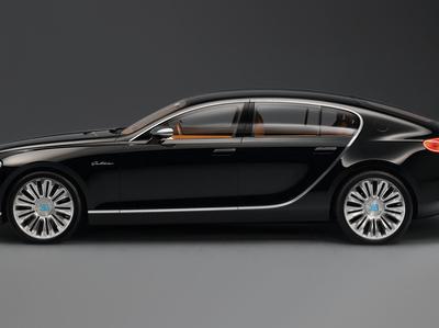 Bugatti построит конкурента Rolls-Royce Phantom