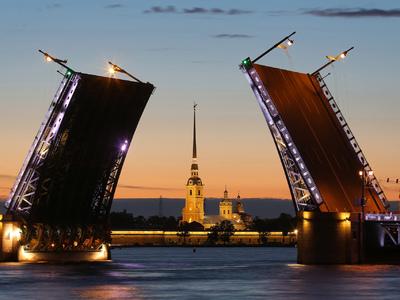"""Дворцовый мост Санкт-Петербурга разведут под гимн """"Зенита"""""""