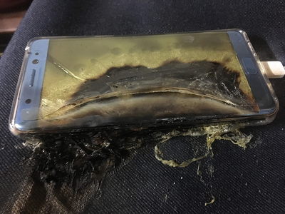 Батареи в Galaxy Note 7 тестировала лаборатория, принадлежащая Samsung