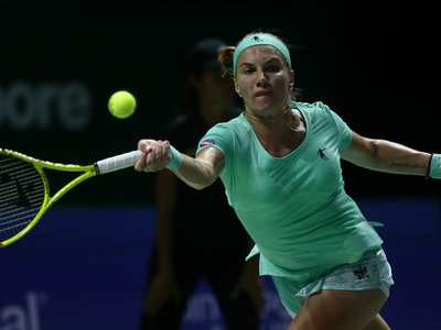 Светлана Кузнецова выиграла у Плишковой на чемпионате WTA
