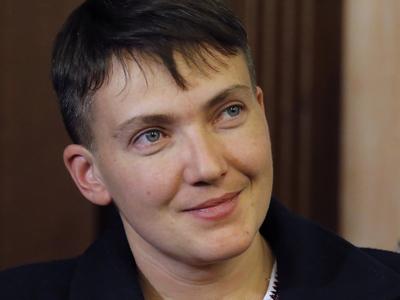 """Надежда Савченко похвалила вежливых людей из ФСБ и стала """"агентом Кремля"""""""