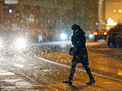 В Москву идут небольшие снегопады и похолодание