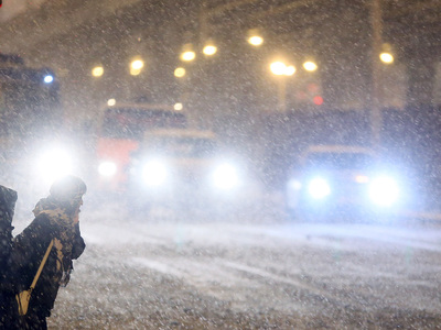 В первый день зимы в Москве выпала пятая часть месячной нормы осадков