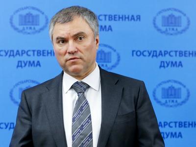 Володин: погромы банков на Украине идут с согласия Европы