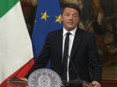 Ренци уходит с поста лидера правящей Демпартии Италии