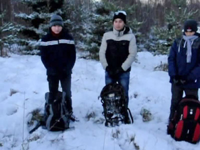 Российские пограничники задержали 6 азиатов, пытавшихся уйти в Эстонию