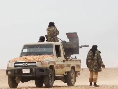 В Меядине нашли склад ИГ с западным оружием