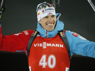 Австриец Юлиан Эберхарт был сильнейшим в спринте