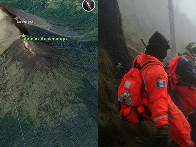 При восхождении на вулкан в Гватемале насмерть замерзли туристы. Фото