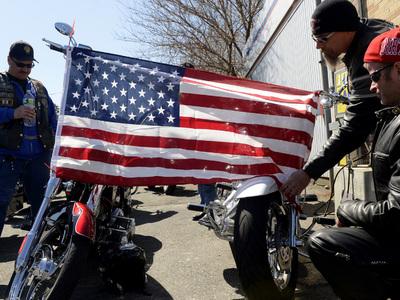 Американца похоронят в коляске от его любимого мотоцикла