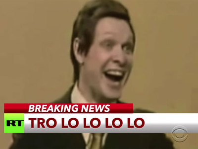 """Шоу на американском телеканале прервала песня Эдуарда Хиля """"Трололо"""". Видео"""