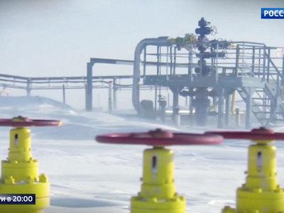 Путин дал старт трем газопроводам