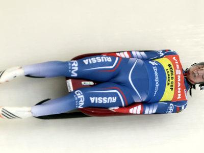 Саночник Роман Репилов взял серебро чемпионата мира