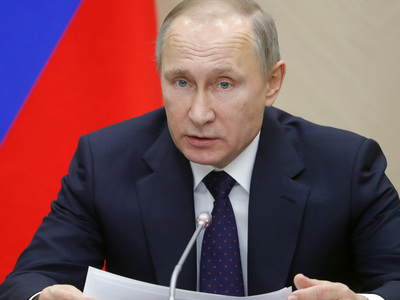 """Путин верит, что Всемирные военные игры подтвердят девиз """"Дружба через спорт"""""""