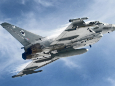 Британский истребитель поднимался с базы НАТО для сопровождения российских Ту-22