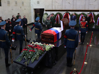 В Москве прощаются с Виталием Чуркиным