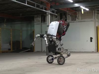 Робот-прыгун на двух колесах скользит, танцует и поднимает тяжести: видео