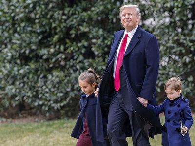 Трамп проигнорировал свою официальную резиденцию для отдыха