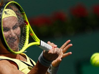 Кузнецова покидает теннисный турнир в Майами