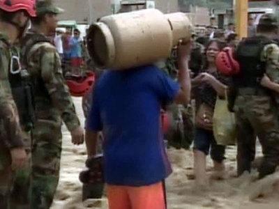 Наводнения в Перу: десять тысяч человек эвакуируют в убежища