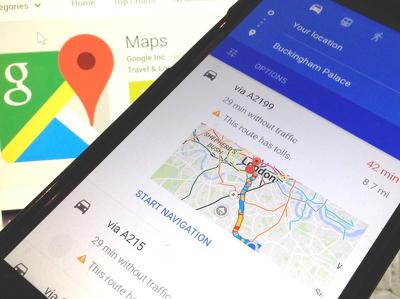 """""""Карты"""" Google разрешили делиться маршрутами и местоположением с друзьями"""