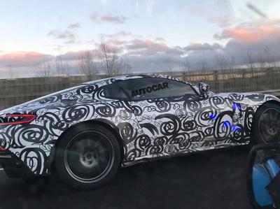 Aston Martin тестирует новый суперкар с мотором от AMG
