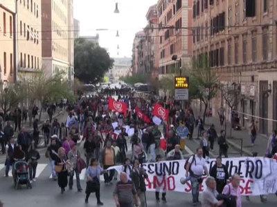 25 000 итальянцев вышли на митинги в день 60-й годовщины Римского договора