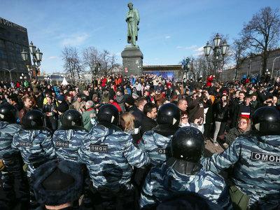 Кремль анализирует позицию участников акций протеста