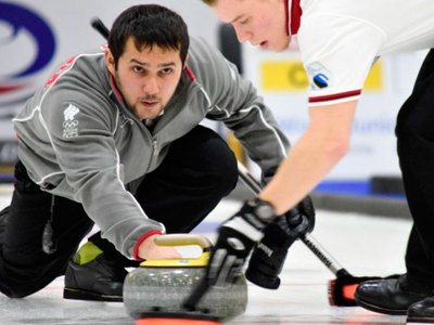 Российские керлингисты потерпели в Чехии третье поражение подряд