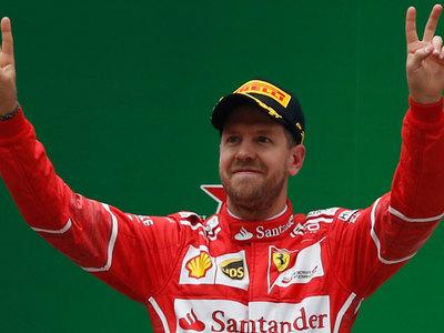 Себастьян Феттель выиграл Гран-при Бахрейна