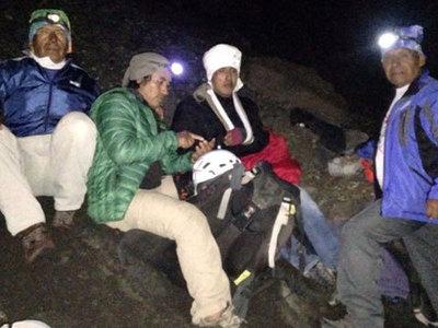Застрявшего на склоне вулкана туриста спасло сообщение в мессенджере