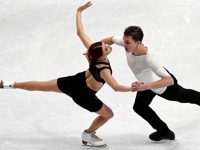 Российские танцоры Боброва и Соловьев – вторые на российском этапе Гран-при