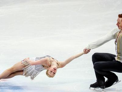 Фигуристы Тарасова и Морозов выиграли российский этап Гран-при