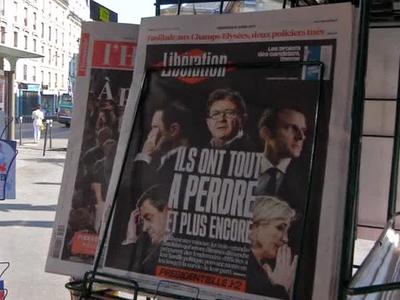 Во Франции – день выборов президента